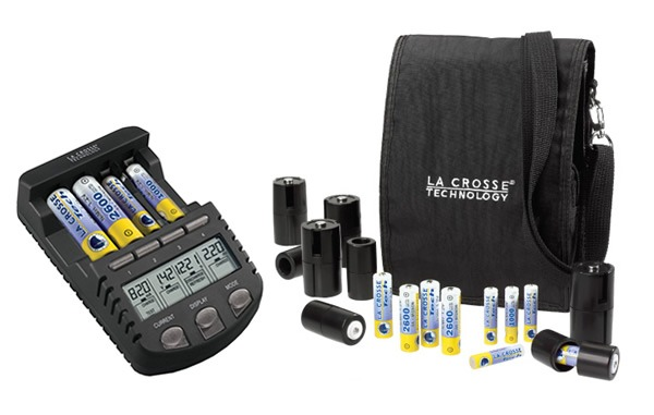 La Crosse Technology BC-700 Alpha Power Battery Charger New Gift